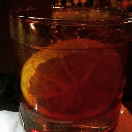 Negroni no Frabks Bar