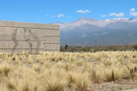 A Salentein tem uma arquitetura integrada à paisagem